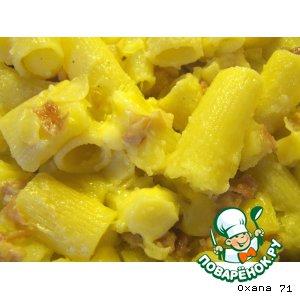 Рецепт Деревенская паста с картофелем ( Pasta rustica con le patate )