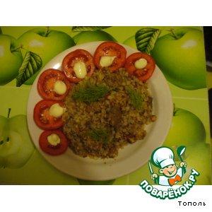 Рецепт Гречневая каша с мясом и овощами