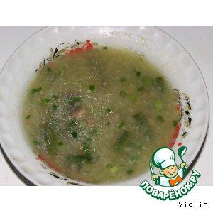 Рецепт Капустный суп-пюре