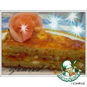 Рецепт Пирог с капустой и яйцом