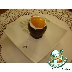 Рецепт Шоколадное яйцо с сюрпризом