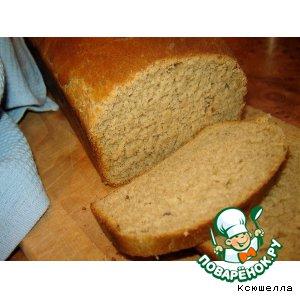 Рецепт Ржаной хлеб на пиве с тмином