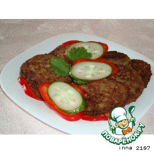 Рецепт Котлеты из куриных потрошков