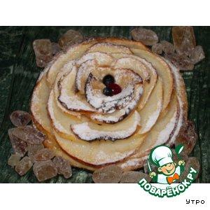 Рецепт Яблочная тарталетка