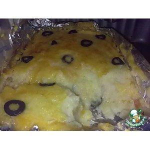 Рецепт Баклажаны в картофельном тесте