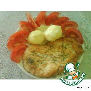 Рецепт Отбивная из курицы
