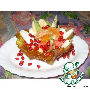 """Рецепт Десертные тарталетки """"Оригинальные"""""""