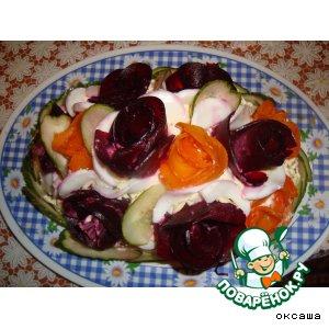 Цветочная клумба вкусный пошаговый рецепт приготовления с фотографиями