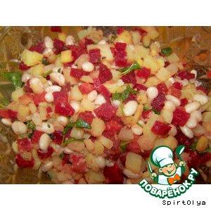 Рецепт Салат из картофеля и свеклы