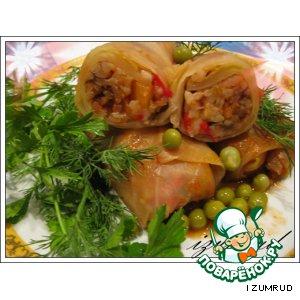 Рецепт Голубцы вегетарианские