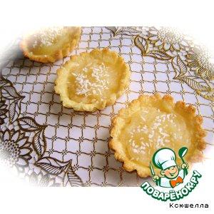 Рецепт Кокосово-лимонные тарталетки