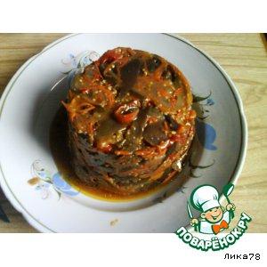 Рецепт Синие по-корейски