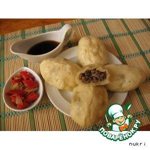 Рецепт ПЯН-СЕ  (Пегeзы, пигоди)  Корейские пирожки на пару