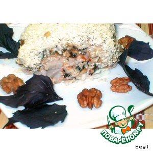 Рецепт Слоеный  салат  с  черносливом