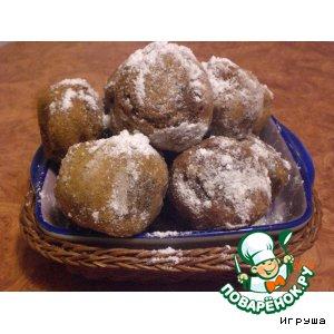 Рецепт Сладкие хрустящие  шарики