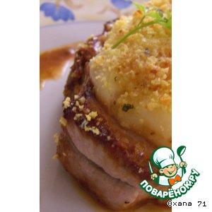 Рецепт Tournedos из свиного филе а-ля Parmentier