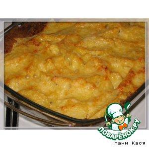 Рецепт Картофель, запеченный в сливках, с травами