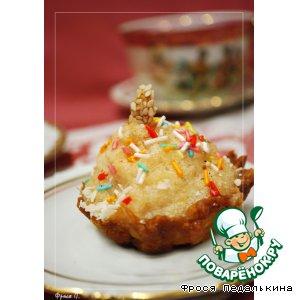 Рецепт Тарталетки с яблочным самбуком