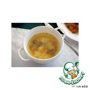 Рецепт Суп грибной с картофелем