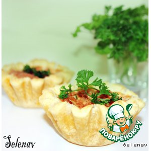 Рецепт Тарталетки с курицей и помидорами