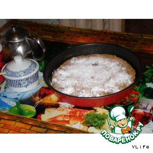 Банановый пирог домашний рецепт с фото пошагово готовим