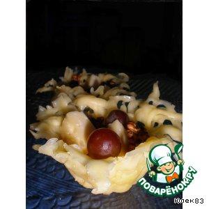 Рецепт Ажурные сырные тарталетки