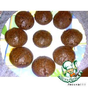 Рецепт Шоколадно-кокосовые маффины