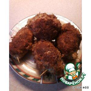 Рецепт Куриные рулетики с сыром