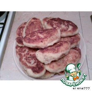 Рецепт Картофельные шанежки с ливером