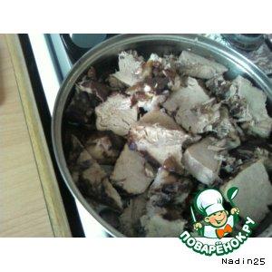 Мясо в вине домашний рецепт с фото пошагово