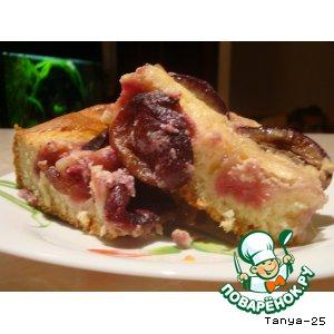 Баварский пирог со сливами домашний пошаговый рецепт приготовления с фото как приготовить