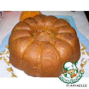 Рецепт Сладкий тыквенный хлеб