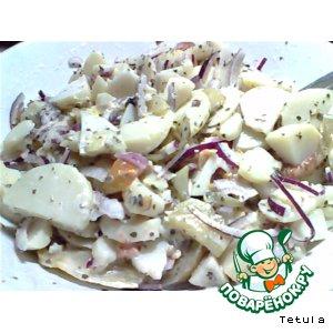 Рецепт Картофельный салат от Хаи
