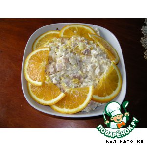 "Рецепт Салат ""Апельсинка"""