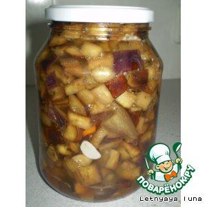 Рецепт Баклажаны-грибочки
