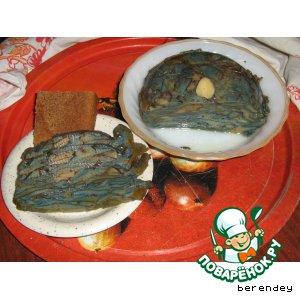 Рецепт Грибной хлебец