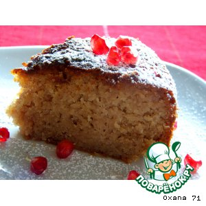 Рецепт Торт-пирог из гранатового сока