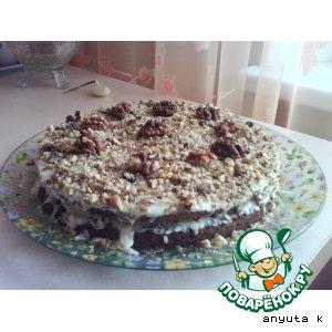 Ореховый торт простой рецепт приготовления с фотографиями