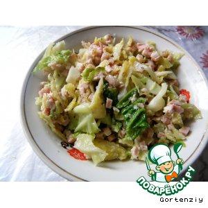 Рецепт Теплый салатик