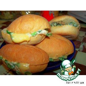Рецепт Сандвичи с курицей
