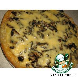 Рецепт Пирог с картошкой и грибами