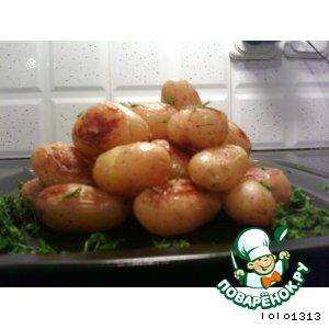 Рецепт Гарнир из молодой картошки