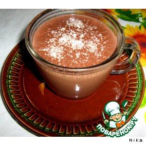 Как готовить Горячий шоколад-гормон счастья простой рецепт с фотографиями