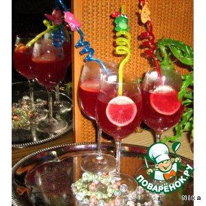 Рецепт Горячее красное сладкое вино со специями