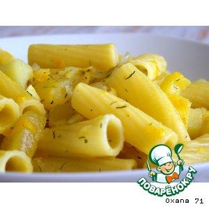 Рецепт Пастаризотто с тыквой и картофелем