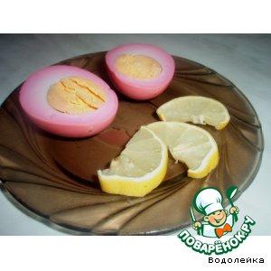 Рецепт Маринованные.... яйца
