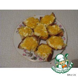 Рецепт Сырные тарталетки