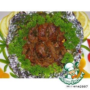 Рецепт Mясо, запеченное в фольге