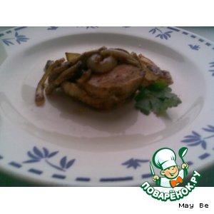 Рецепт Курочка с карамелизированным луком