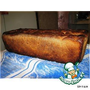 Рецепт Ржаной хлеб с тмином и кориандром